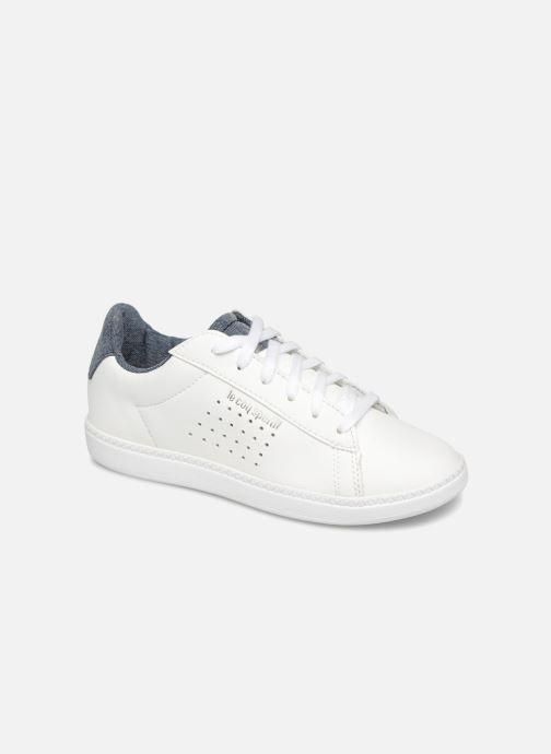 Baskets Le Coq Sportif Coustet Ps Laces Craft Blanc vue détail/paire