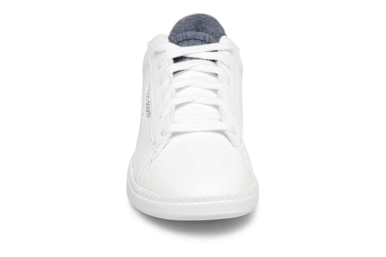 Baskets Le Coq Sportif Coustet Ps Laces Craft Blanc vue portées chaussures