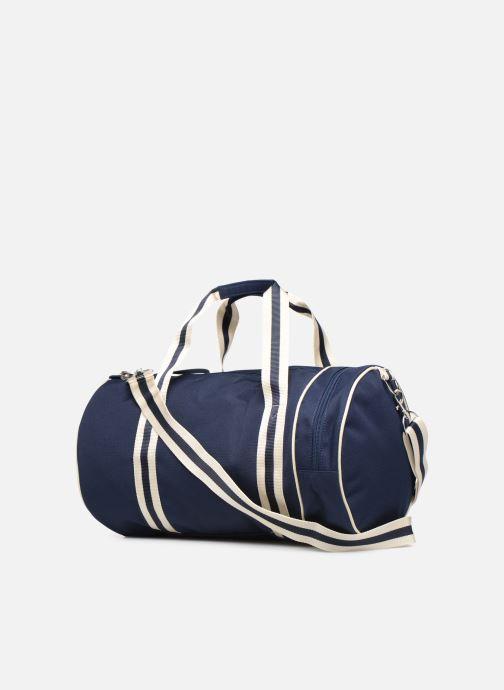 Sacs de sport Fred Perry TWIN TIPPED BARREL BAG Bleu vue droite