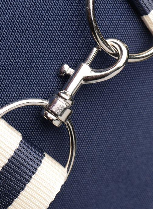 Sacs de sport Fred Perry TWIN TIPPED BARREL BAG Bleu vue gauche