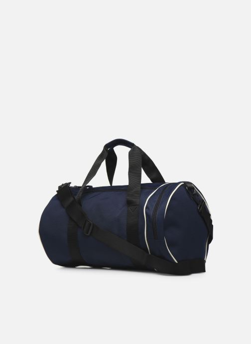 Sacs de sport Fred Perry TWIN TIPPED BARREL BAG Bleu vue droite