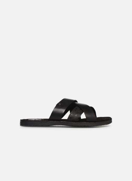 Sandales et nu-pieds Base London CHARIOT Noir vue derrière