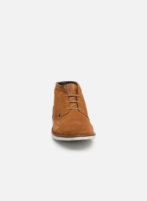Bottines et boots Base London BUSTER Marron vue portées chaussures