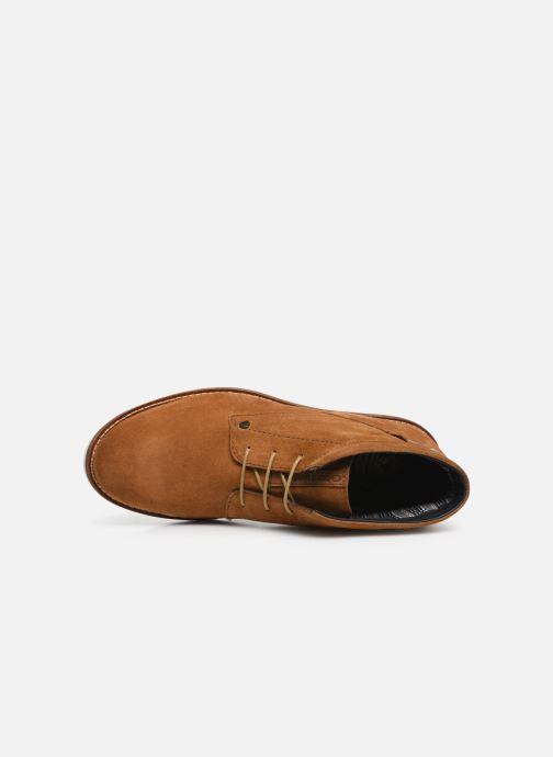 Boots en enkellaarsjes Base London BUSTER Bruin links