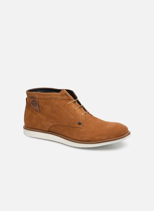 Boots en enkellaarsjes Base London BUSTER Bruin detail