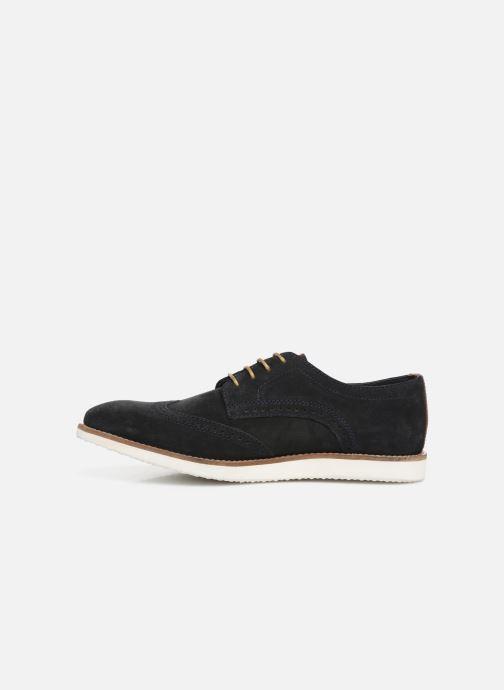 Chaussures à lacets Base London FELIX Bleu vue face