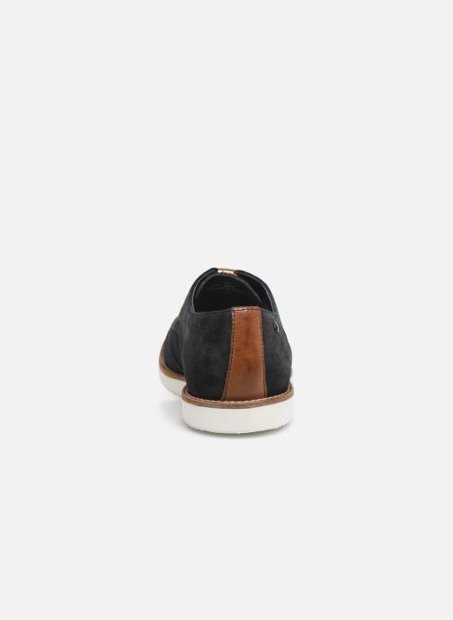 Chaussures à lacets Base London FELIX Bleu vue droite