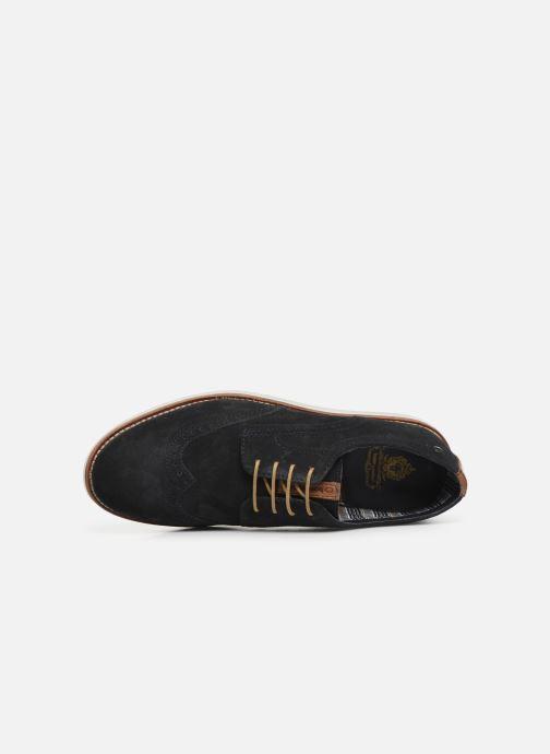 Chaussures à lacets Base London FELIX Bleu vue gauche