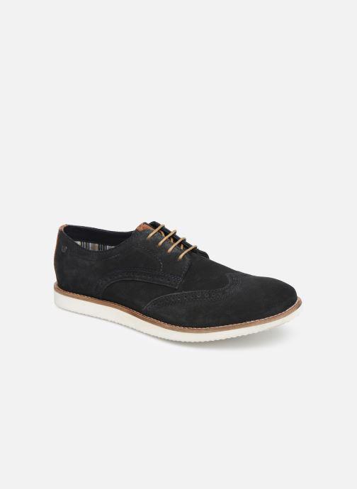 Chaussures à lacets Base London FELIX Bleu vue détail/paire