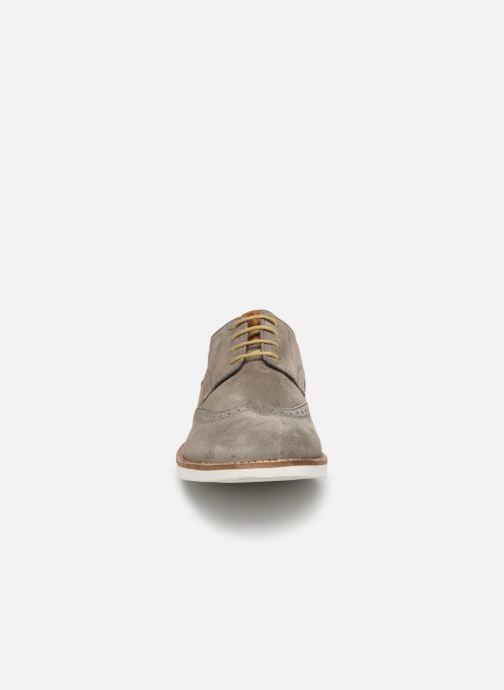 Chaussures à lacets Base London FELIX Gris vue portées chaussures