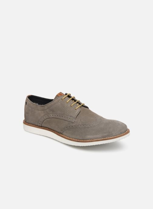 Chaussures à lacets Base London FELIX Gris vue détail/paire