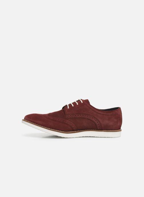 Chaussures à lacets Base London FELIX Bordeaux vue face