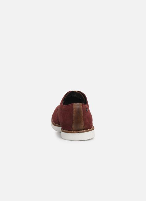 Chaussures à lacets Base London FELIX Bordeaux vue droite