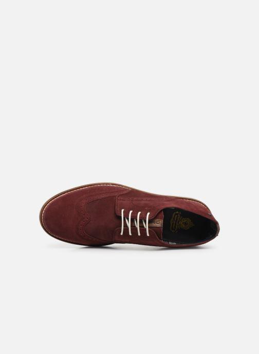 Chaussures à lacets Base London FELIX Bordeaux vue gauche