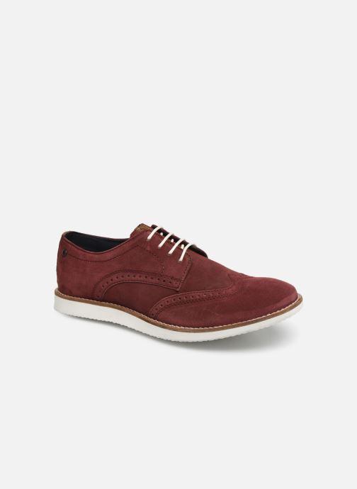 Chaussures à lacets Base London FELIX Bordeaux vue détail/paire