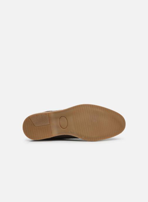 Chaussures à lacets Base London KINCH WEAVE Marron vue haut