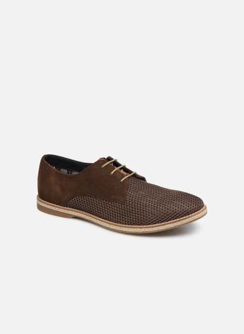 Chaussures à lacets Base London KINCH WEAVE Marron vue détail/paire