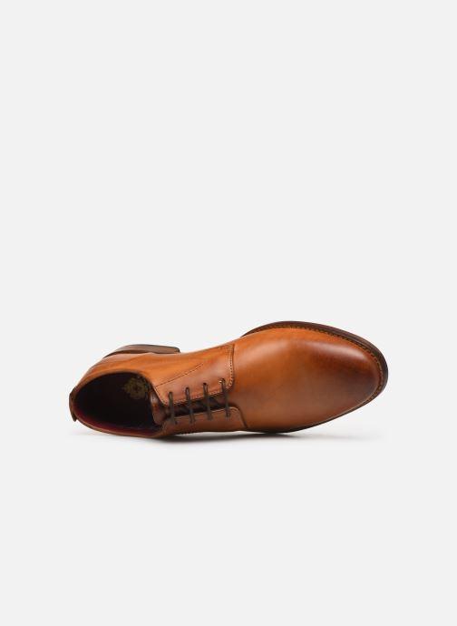Chaussures à lacets Base London SCRIPT Marron vue gauche