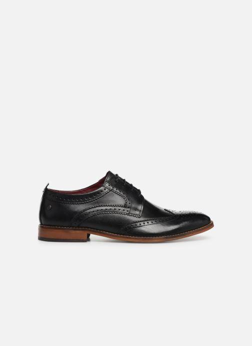 Chaussures à lacets Base London MOTIF Noir vue derrière