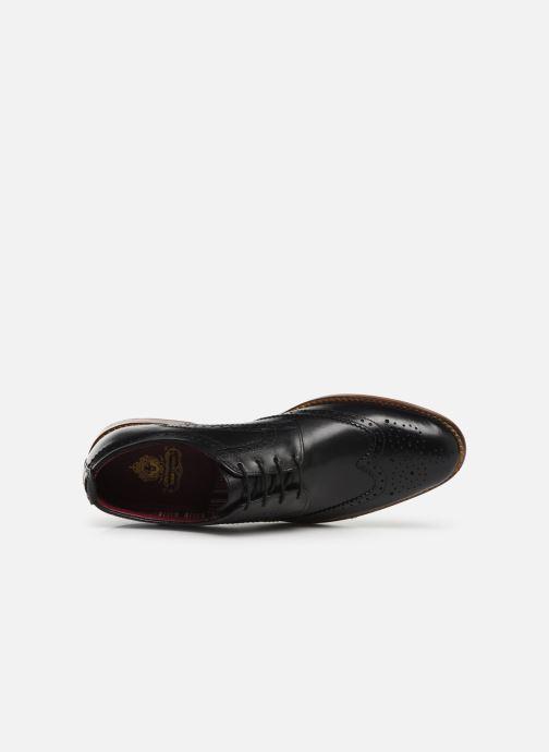 Lacets Motif Waxy Chaussures Black À Base London fy7Yvb6g