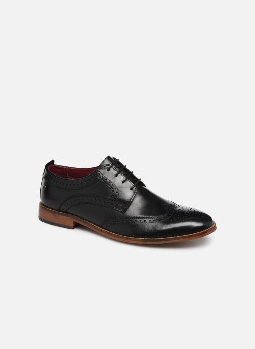 Chaussures à lacets Base London MOTIF Noir vue détail/paire