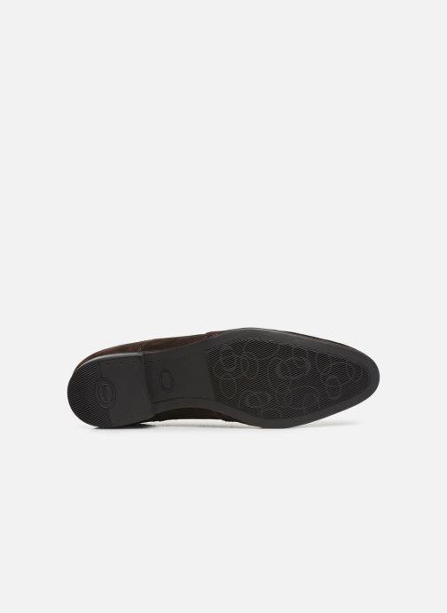 Chaussures à lacets Base London PURCELL Marron vue haut