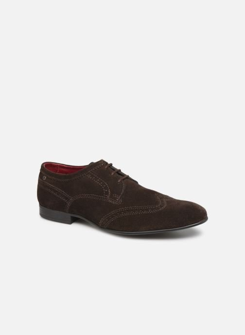 Lace-up shoes Base London PURCELL Brown detailed view/ Pair view