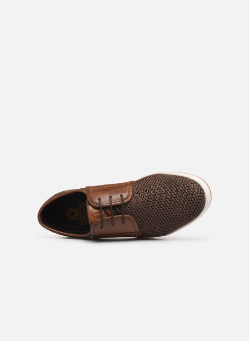 Sneakers Base London JIVE Marrone immagine sinistra