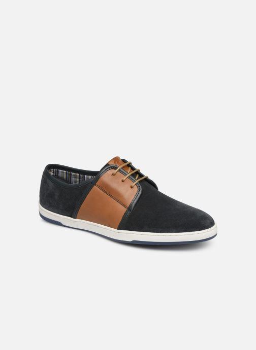 Sneakers Base London JIVE Blauw detail
