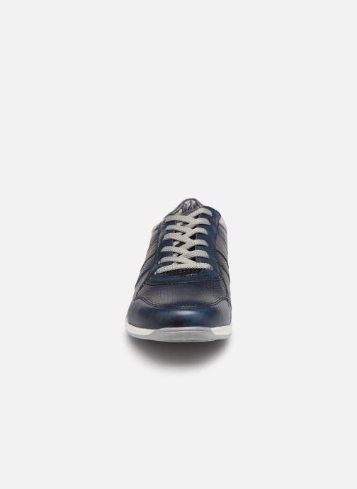 Baskets Base London ECLIPSE Bleu vue portées chaussures