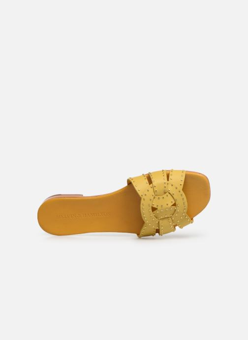 Melvin & Hamilton Elodie 13 (jaune) - Mules Et Sabots(359167)