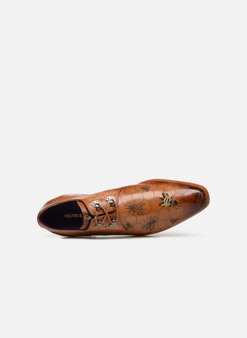 Zapatos con cordones Melvin & Hamilton Elvis 42 Marrón vista lateral izquierda