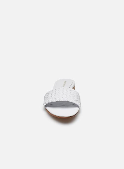 Zoccoli Melvin & Hamilton Hanna 26 Bianco modello indossato