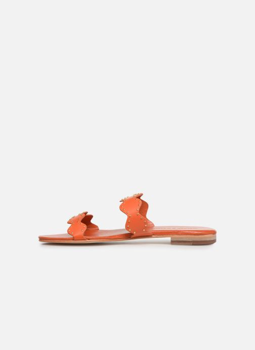 Mules & clogs Melvin & Hamilton Hanna 45 Orange front view