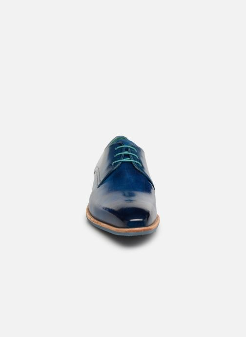 Zapatos con cordones Melvin & Hamilton Lance 24 Azul vista del modelo