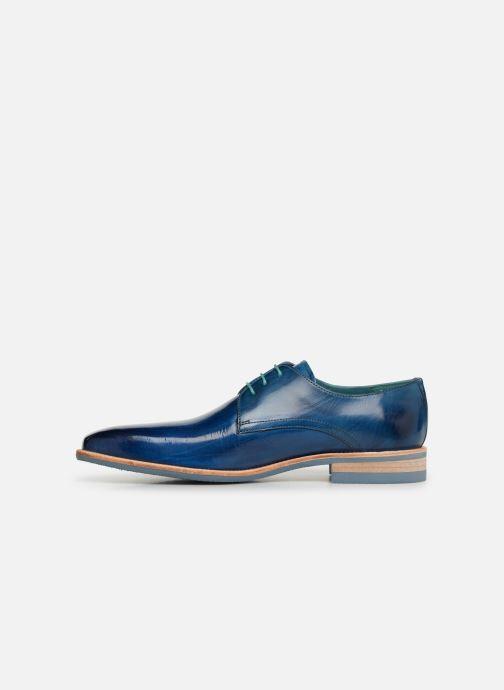Zapatos con cordones Melvin & Hamilton Lance 24 Azul vista de frente