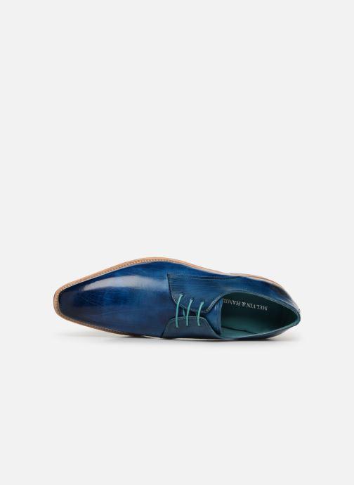 Zapatos con cordones Melvin & Hamilton Lance 24 Azul vista lateral izquierda