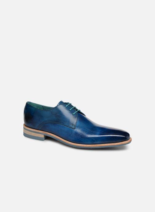 Zapatos con cordones Melvin & Hamilton Lance 24 Azul vista de detalle / par
