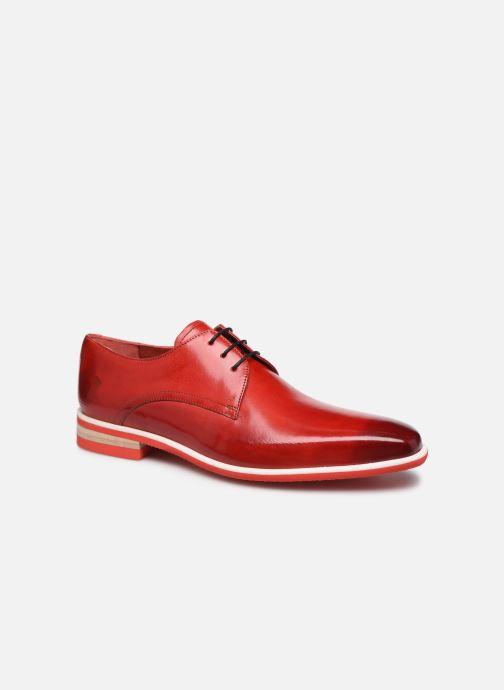 Chaussures à lacets Melvin & Hamilton Lance 24 Rouge vue détail/paire