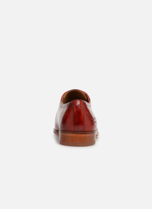 Zapatos con cordones Melvin & Hamilton Lance 37 Rojo vista lateral derecha