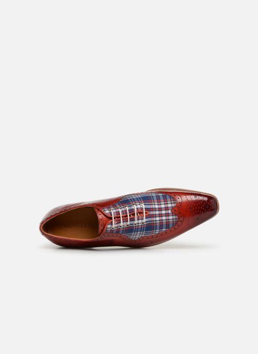 Zapatos con cordones Melvin & Hamilton Lance 37 Rojo vista lateral izquierda