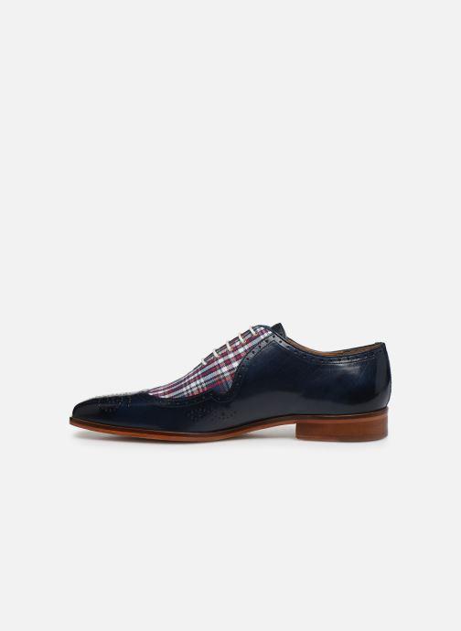 Zapatos con cordones Melvin & Hamilton Lance 37 Azul vista de frente