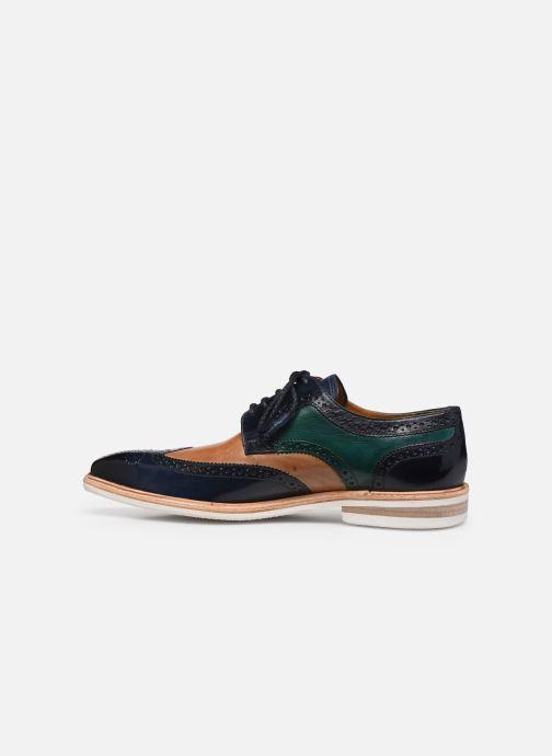 Lace-up shoes Melvin & Hamilton Marvin 1 Blue front view