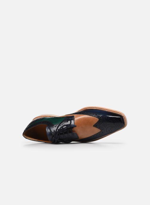 Zapatos con cordones Melvin & Hamilton Marvin 1 Azul vista lateral izquierda