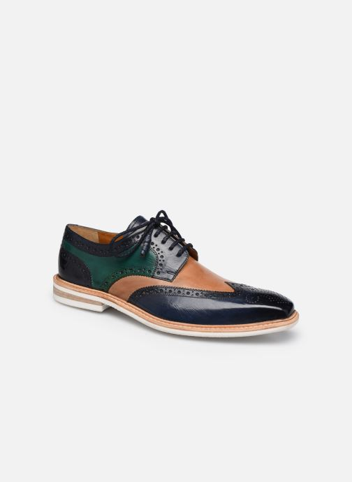 Lace-up shoes Melvin & Hamilton Marvin 1 Blue detailed view/ Pair view