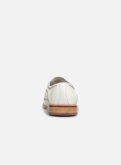 Zapatos con cordones Melvin & Hamilton Matthew 4 Blanco vista lateral derecha