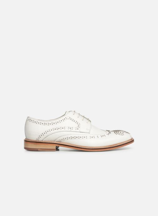 Zapatos con cordones Melvin & Hamilton Matthew 4 Blanco vistra trasera