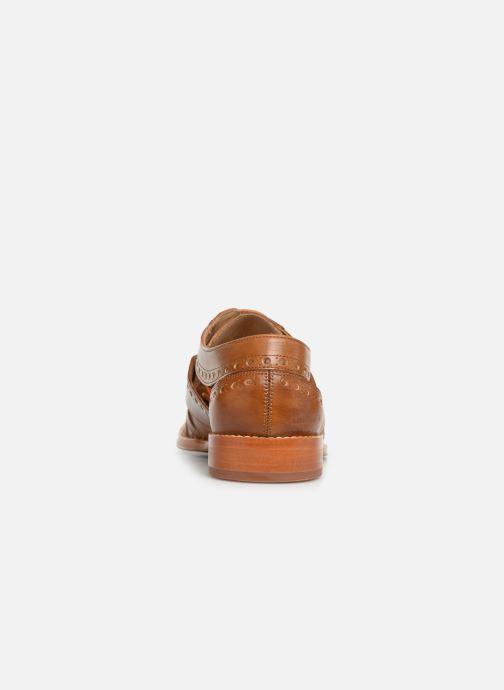 Zapatos con cordones Melvin & Hamilton Phil 14 Marrón vista lateral derecha