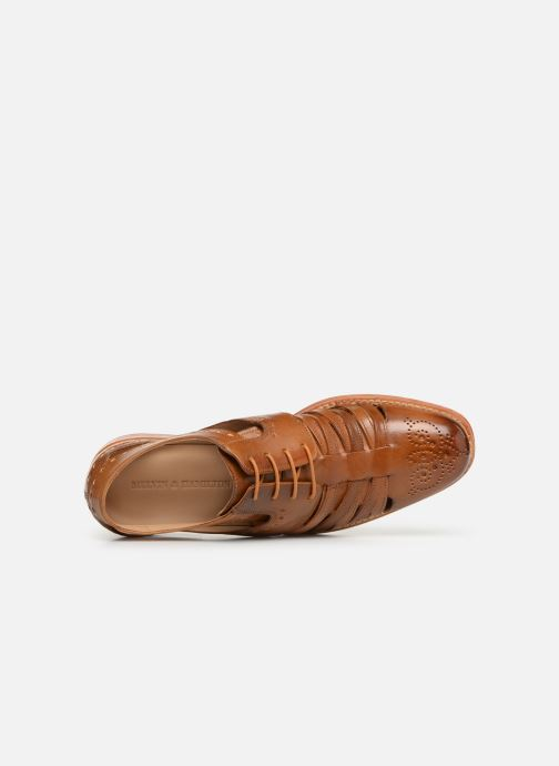 Zapatos con cordones Melvin & Hamilton Phil 14 Marrón vista lateral izquierda