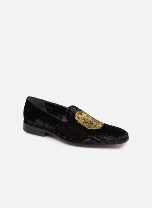 Loafers Melvin & Hamilton Prince 1 Black detailed view/ Pair view